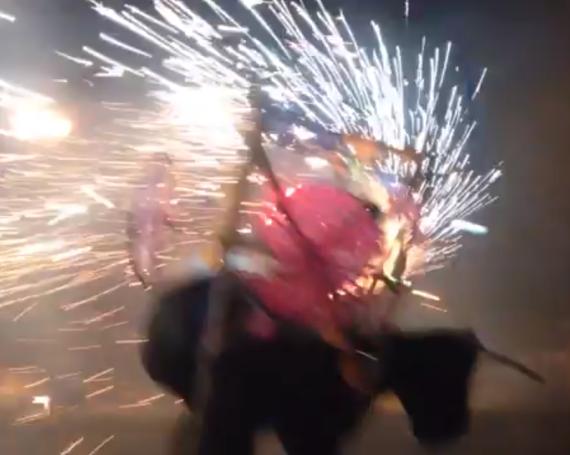Fireworks in Tule