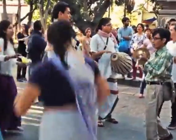 Mexican Hare Krishna Community in Coyoacan